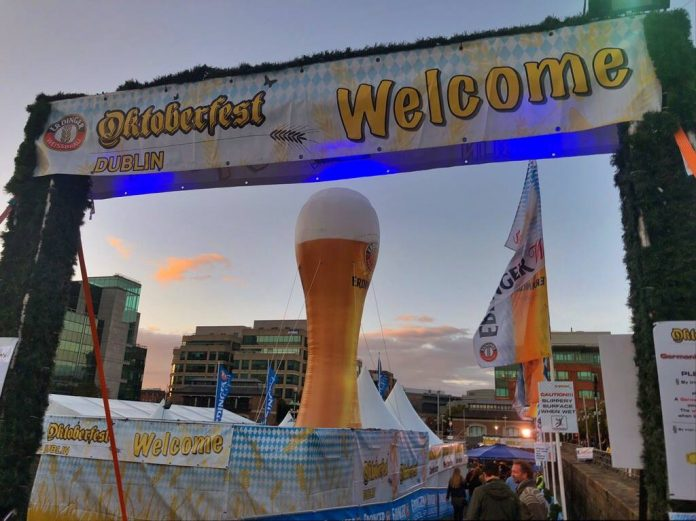 EVENT CANCELLED Oktoberfest Dublin not returning due to increases in insurance premium as statement released