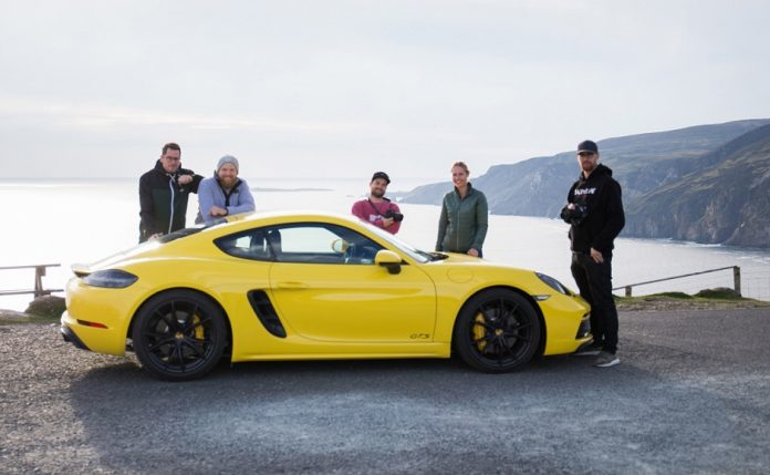 Tourism Ireland in Germany has unveiled a new promotion, created in conjunction with the famous car manufacturer Porsche.