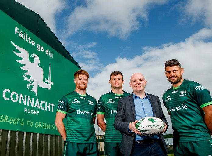 Ireland West Airport announce new marketing partnership with Connacht Rugby.