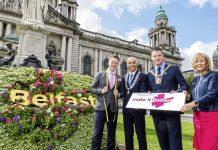Marketing campaign 'Make it Belfast' to help development of Belfast City Centre after Primark Fire