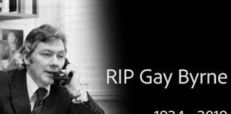 Irish media icon Gay Byrne has passed away